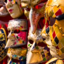 Venice venetian masks 83182 215x215 Travel