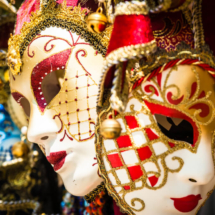 Venice venetian masks 9462 215x215 Travel