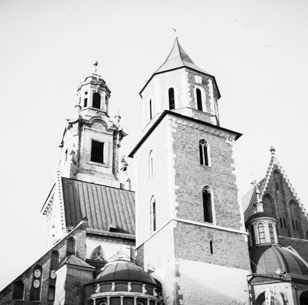 Zeiss Ikon Nettar 517/16, Krakow, analogue photography, castle, -10