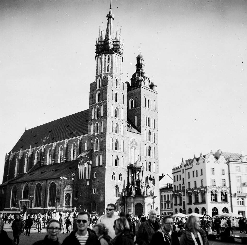 Zeiss Ikon Nettar 517/16, Krakow, analogue photography, -3