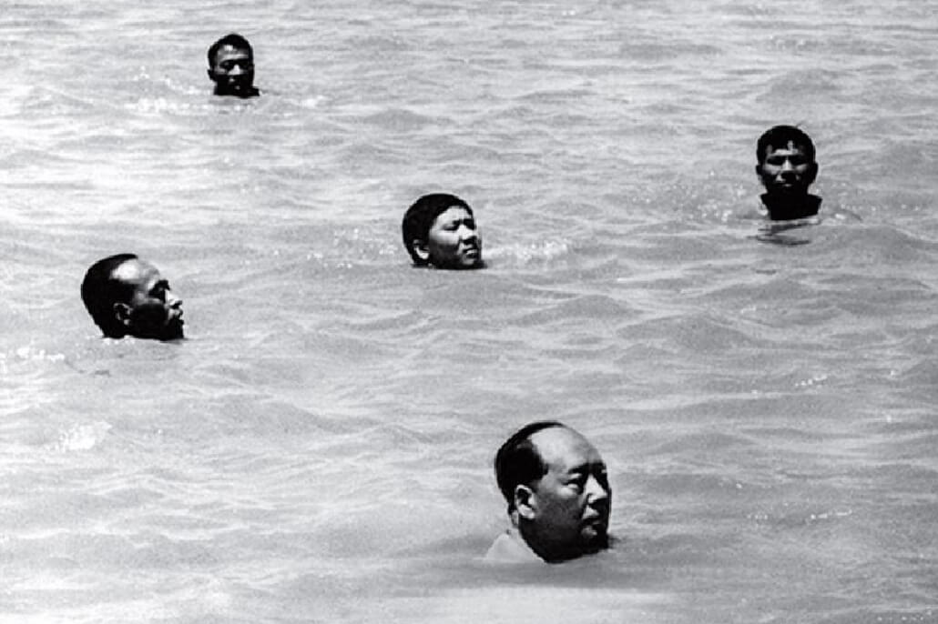 Chairman Mao Swims in the Yangtze Unknown 1966 1 TIME 100 Photos   The Most Influential Images of All Time