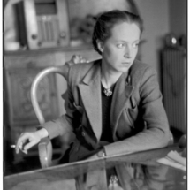 Henri Cartier Bresson FRANCE. French Communist deputy Mara LUCAS. 1945. 215x215 Photos of Henri Cartier Bresson