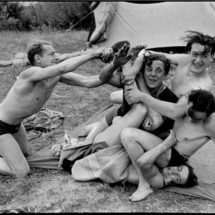 Henri Cartier Bresson FRANCE. Ile de France. Along the Marne river. First paid holidays. 1936 215x215 Photos of Henri Cartier Bresson