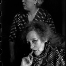 Henri Cartier Bresson FRANCE. Paris. 1952. French writer COLETTE at her home in the Palais Royal with her nurse Pauline. 215x215 Photos of Henri Cartier Bresson