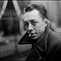 Henri Cartier Bresson FRANCE. Paris. French writer Albert CAMUS. 1944. 215x215 Photos of Henri Cartier Bresson