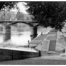 Henri Cartier Bresson FRANCE. Paris. The Pont des Arts bridge. 1955. 215x215 Photos of Henri Cartier Bresson