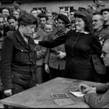 Henri Cartier Bresson GERMANY. Dessau. April 1945 215x215 Photos of Henri Cartier Bresson
