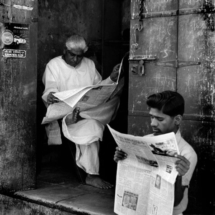 Henri Cartier Bresson INDIA. Gujarat. Ahmedabad. 1966. Old city. 215x215 Photos of Henri Cartier Bresson