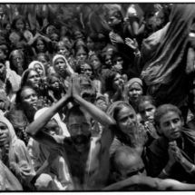 Henri Cartier Bresson INDIA. Tamil Nadu. Tiruvannamalai. 1950. Funeral of the Bhagwan Sri Ramana Maharshi. 215x215 Photos of Henri Cartier Bresson