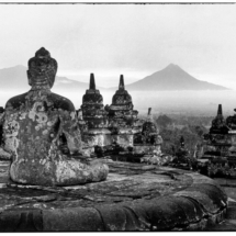 Henri Cartier Bresson INDONESIA. Java. Borobudur Temple. 1950. 215x215 Photos of Henri Cartier Bresson