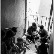 Henri Cartier Bresson ITALY. Rome. Trastevere. 1952. 215x215 Photos of Henri Cartier Bresson