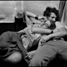 Henri Cartier Bresson ROMANIA. In a train. 1975. 215x215 Photos of Henri Cartier Bresson