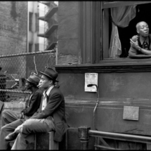 Henri Cartier Bresson USA. New York City. Harlem. 1947. 215x215 Photos of Henri Cartier Bresson