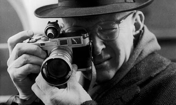 Henri Cartier Bresson. Photo by Jane Brown via The Guardian 2018   52 Inspirational photography quotes