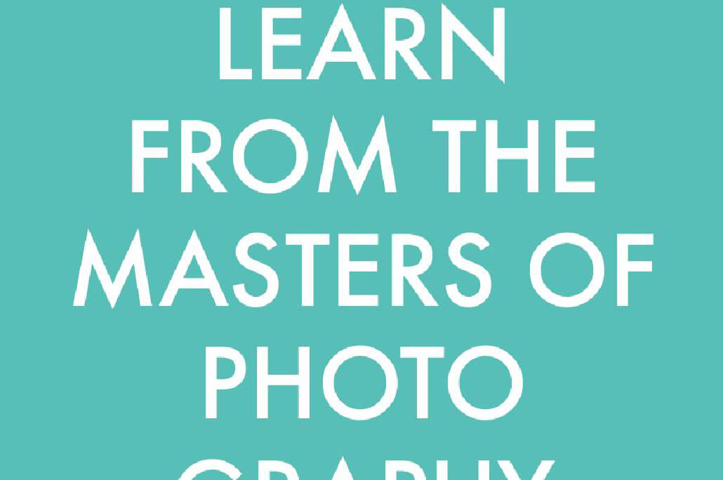 Learn from the masters of photography 25 Free Photography E Books