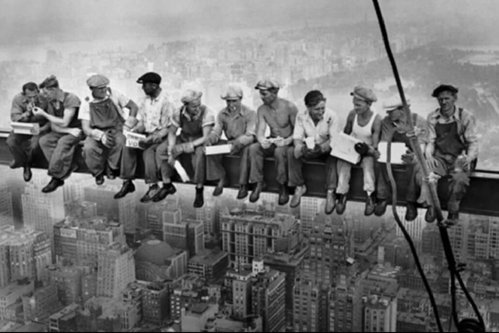 Lunch Atop a Skyscraper Unknown 1932 TIME 100 Photos   The Most Influential Images of All Time