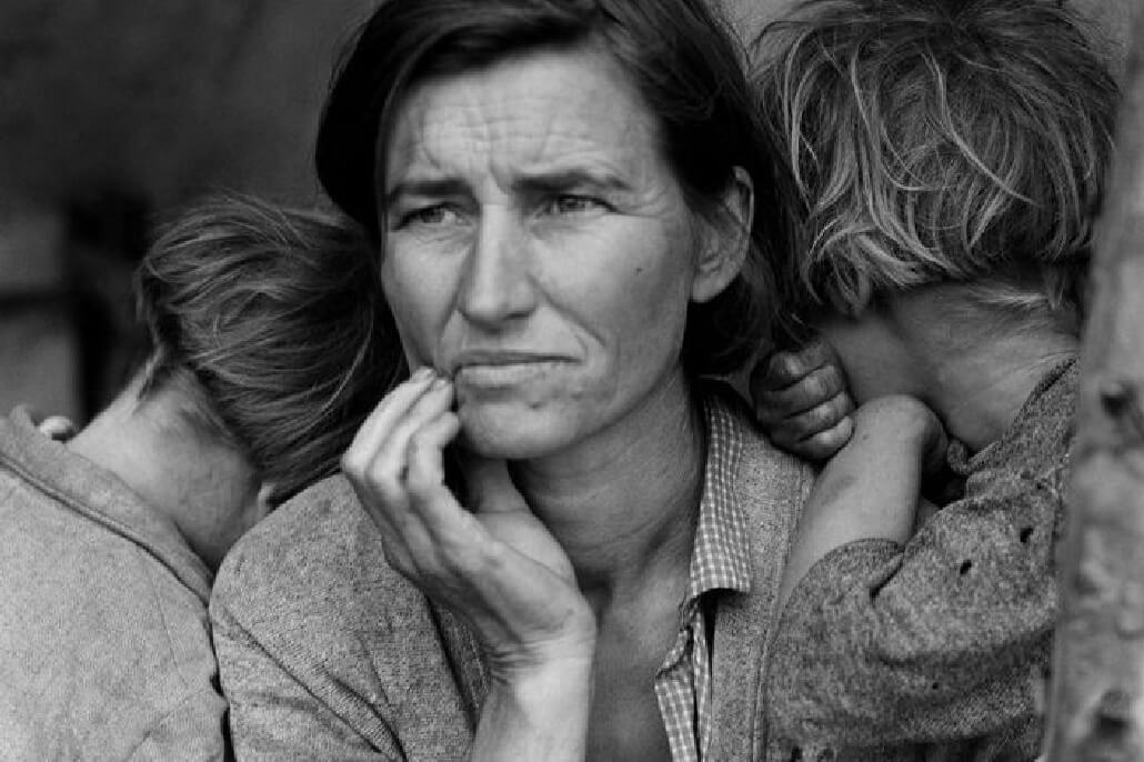 Migrant Mother Dorothea Lange 1936 TIME 100 Photos   The Most Influential Images of All Time