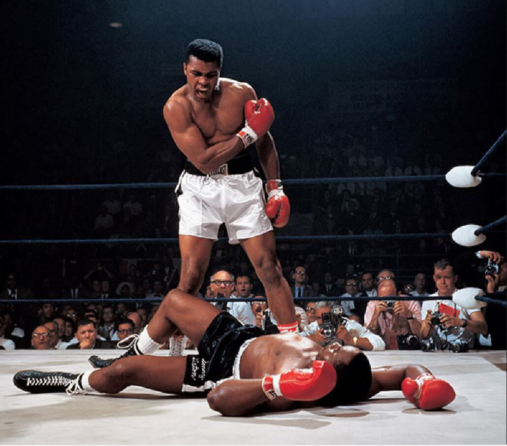 Muhammad Ali vs Sonny Liston Neil Leifer 1965 TIME 100 Photos   The Most Influential Images of All Time