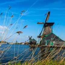 Zaanse Schans Windmill Village Nederland 80714 215x215 Travel